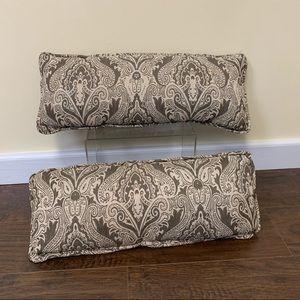 Set of 2 Matching Pillows.